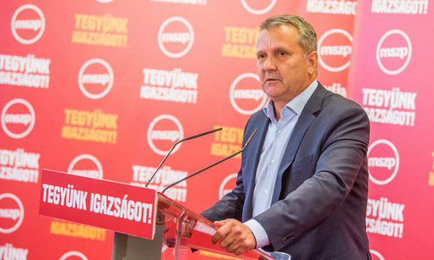 Socialist party leader vows to 'carry on with characteristic politics'