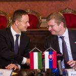 Hungary, Slovakia sign declaration of intent for construction of north-south gas pipeline