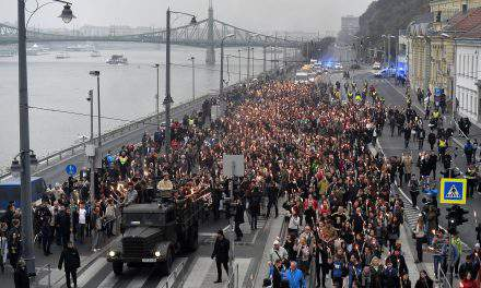 October 23 – Celebrations of 1956 anniversary start in Budapest