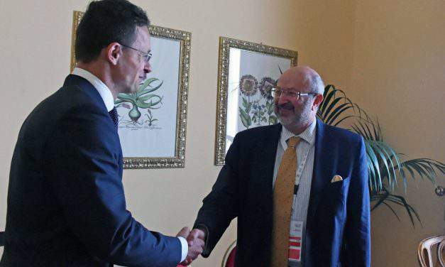 OSCE commissioner shares concerns about Ukraine education law, says Hungarian FM in Palermo