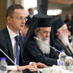 Hungary's FM meets Greek counterpart in Athens