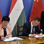 Hungary, China sign interstate deal to keep Chinese university in Budapest