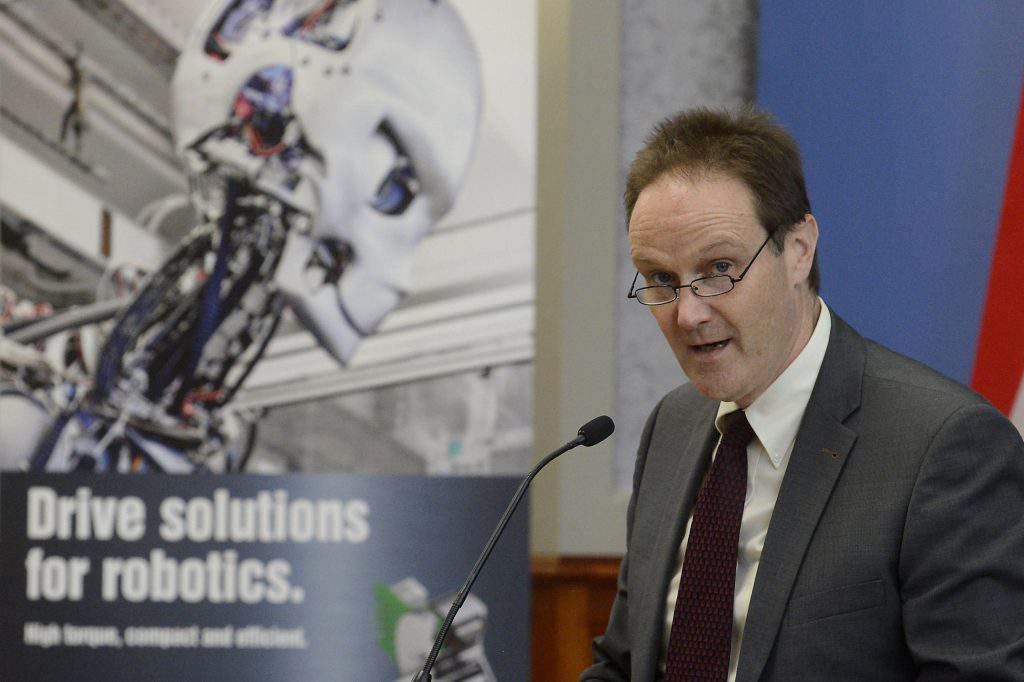 Peter Grütter, Maxon Motor's Chief Operating Officer