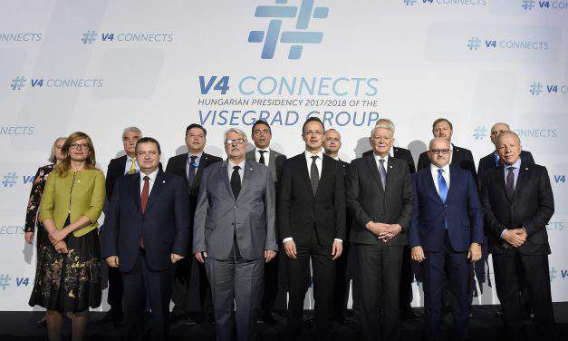 Visegrad Four backs EU enlargement, say top diplomats in Budapest