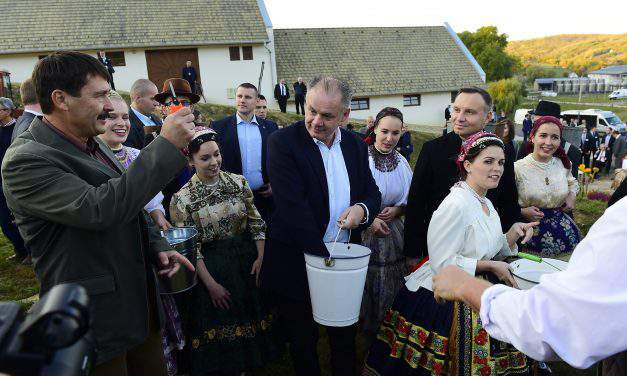 Summit of the heads of state of the Visegrad Group were held in Szekszárd