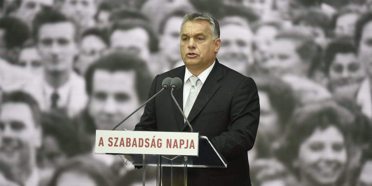 1956 – Orbán: 'If freedom is lost, so are we'