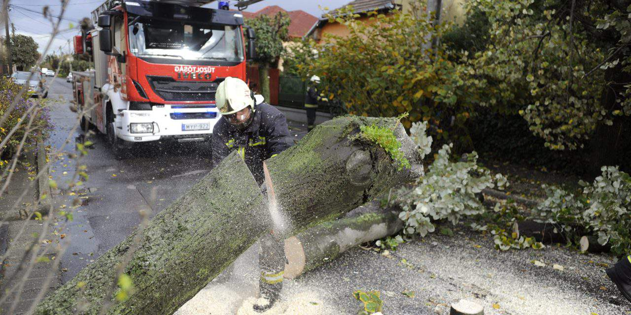 Massive storms left huge trails of destruction in Hungary