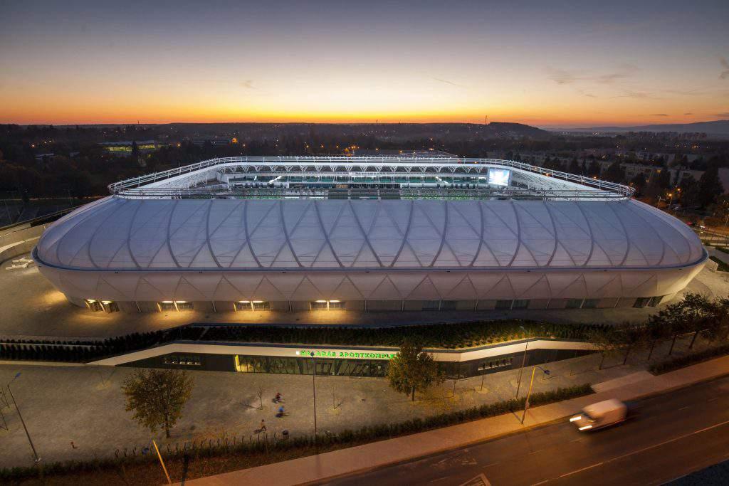 Haladás football stadium