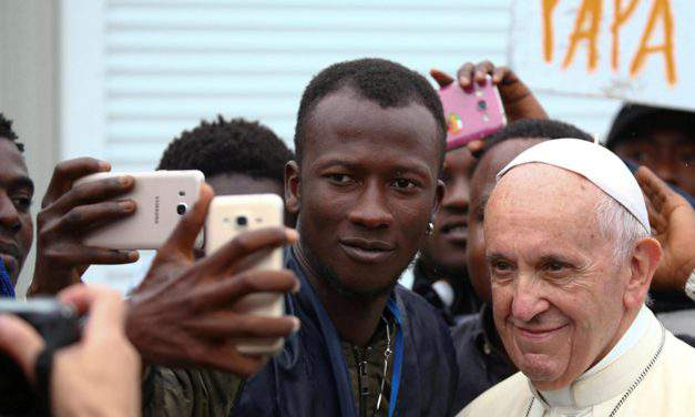 Pope Francis called for more openness and creation of humanitarian corridors to accommodate more migrants