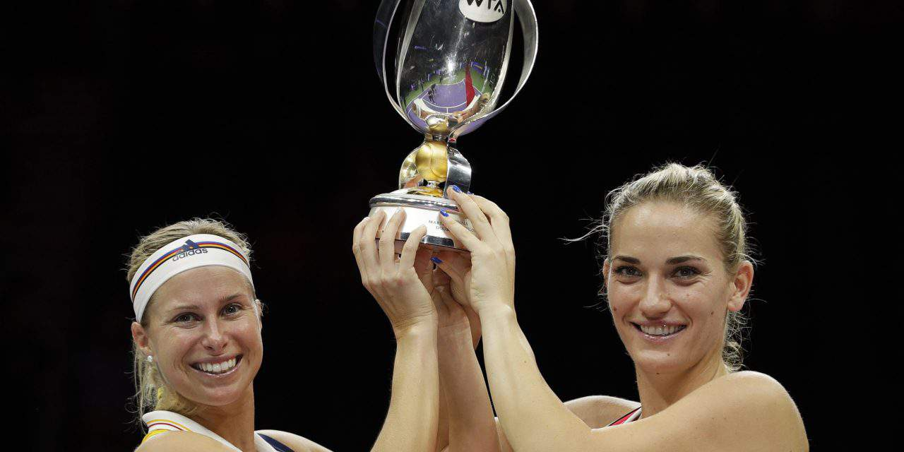 Tímea Babos becomes the first Hungarian World Champion in tennis