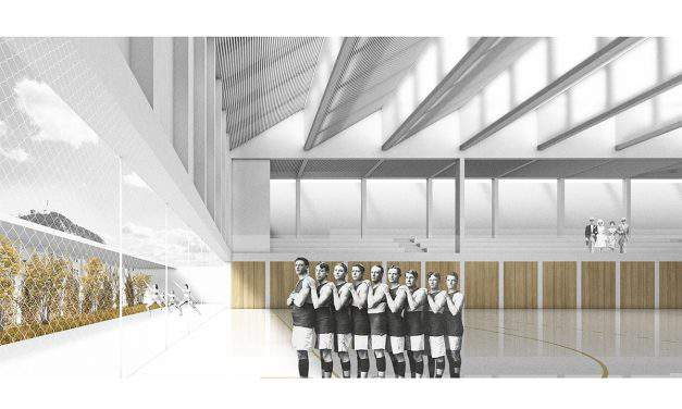 Corvinus University of Budapest to get a cool new sports hall