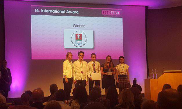 Hungarian high schoolers win Teen Tech world championship