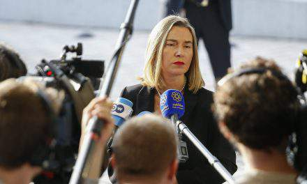 Federica Mogherini: The EU will start discussion with Ukraine on the new Education Act