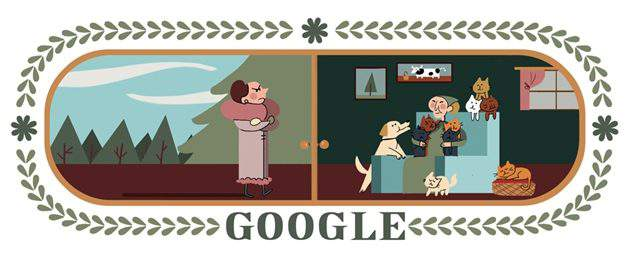 What are those figures appearing on Hungarian Google's home page yesterday?