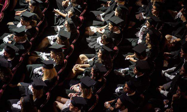 The number of graduates is falling