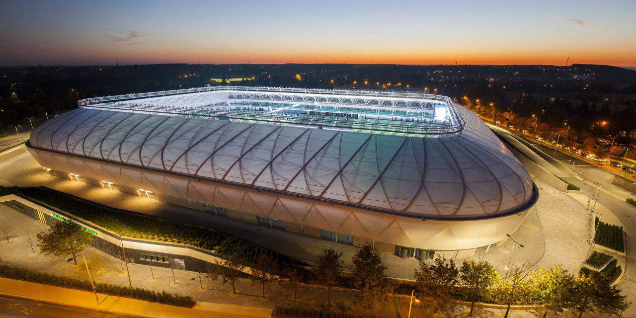 Check out the newly finished Hungarian football stadium – PHOTOS