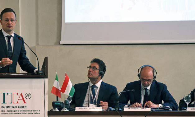 Hungarian-Italian business forum were held in Milan