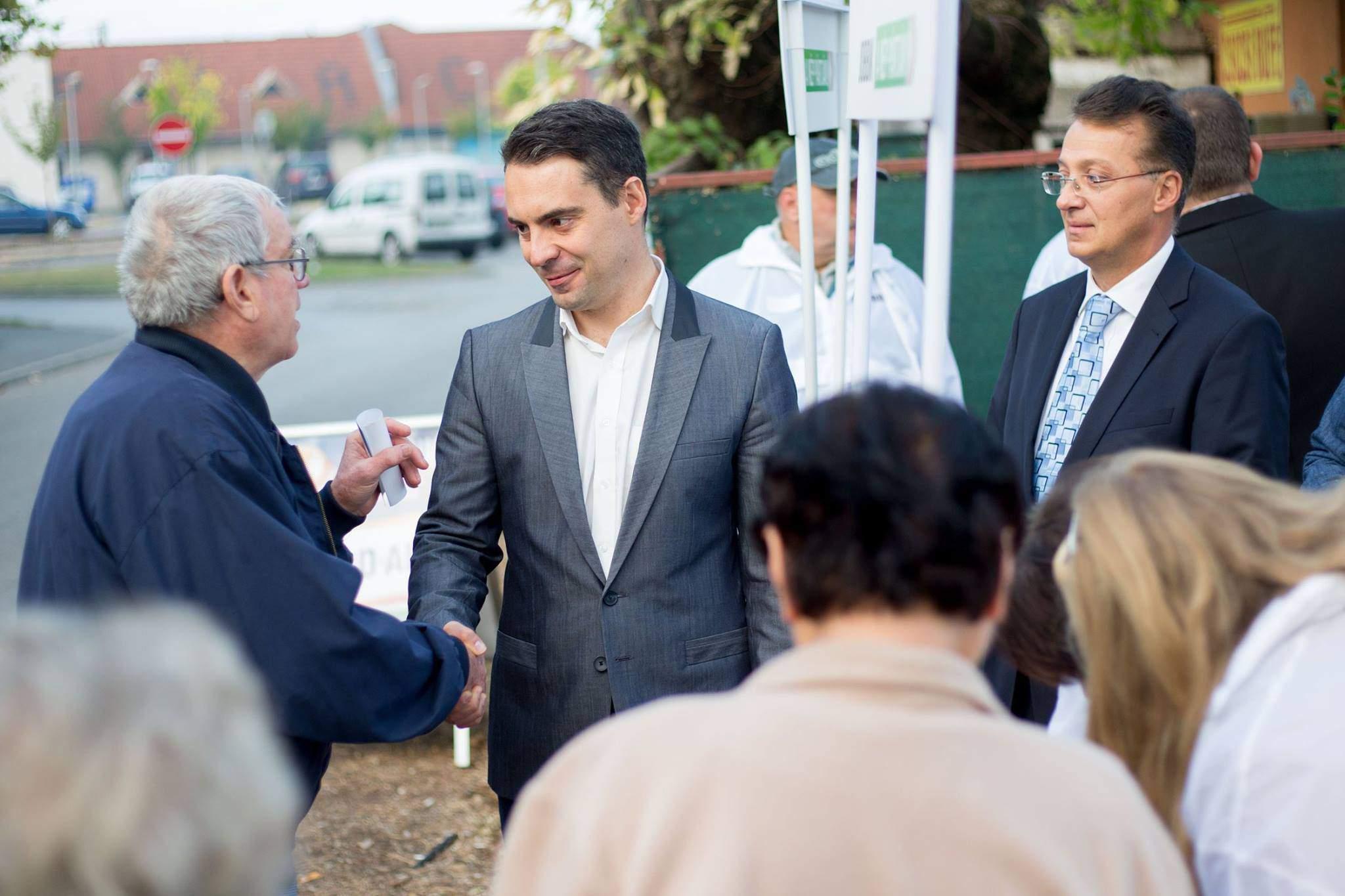 Jobbik party - Gábor Vona