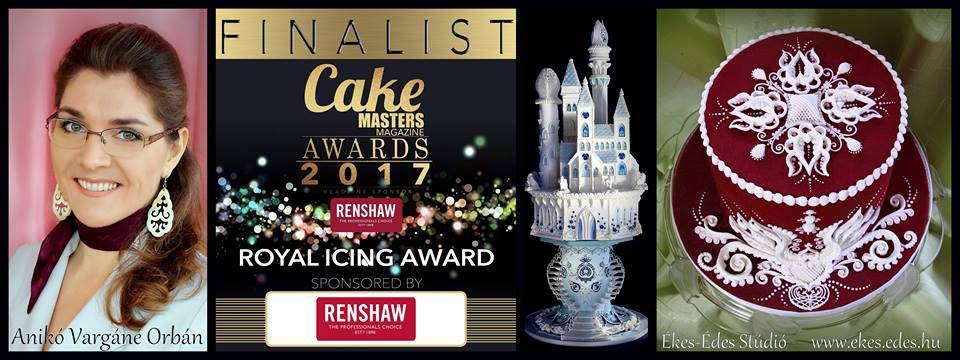 Cake Masters Magazine Awards – Ékes-Édes Stúdió is a 2017 finalist!