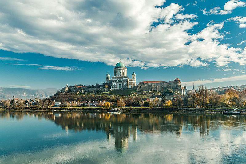 Basilica of Esztergom, Hungary, building