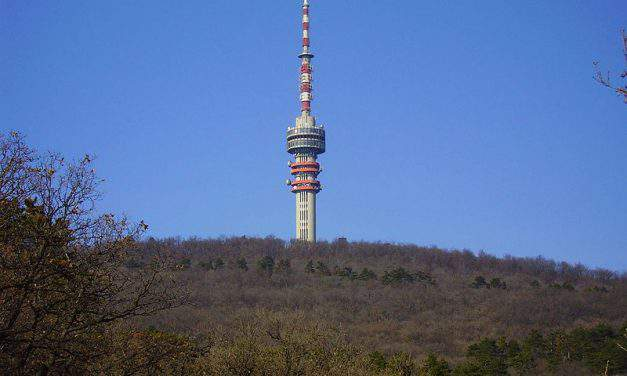 The compass of Pécs: the TV Tower