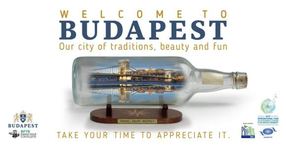 Let's promote sustainable and respectful tourism in Budapest
