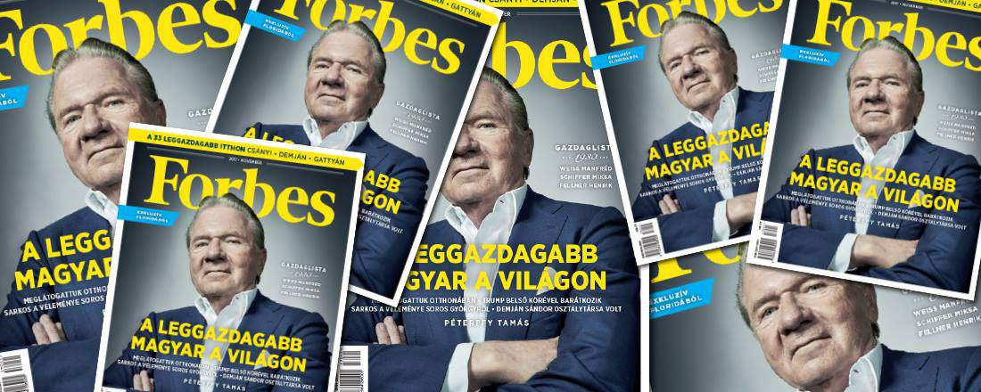 The richest Hungarians in 2017, collected by Forbes