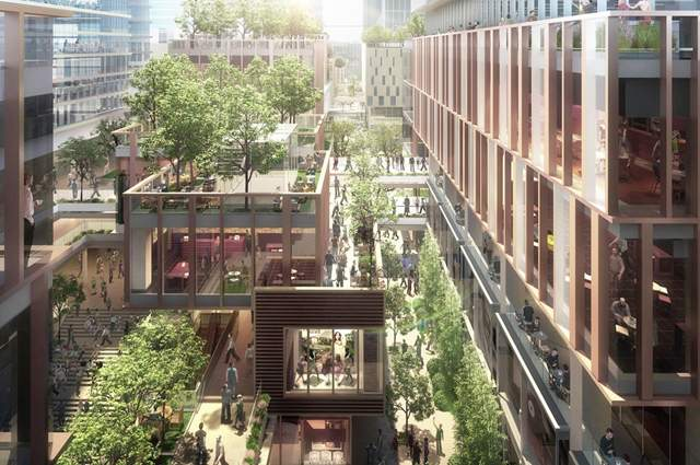 A new, modern quarter to be added to Budapest's cityscape