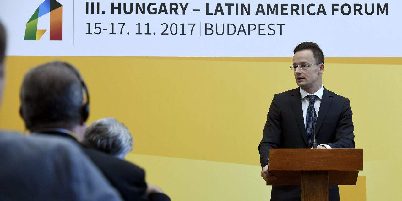 Foreign minister: Hungary strives to build effective ties with South America