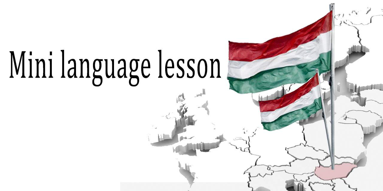 language lesson Hungarian