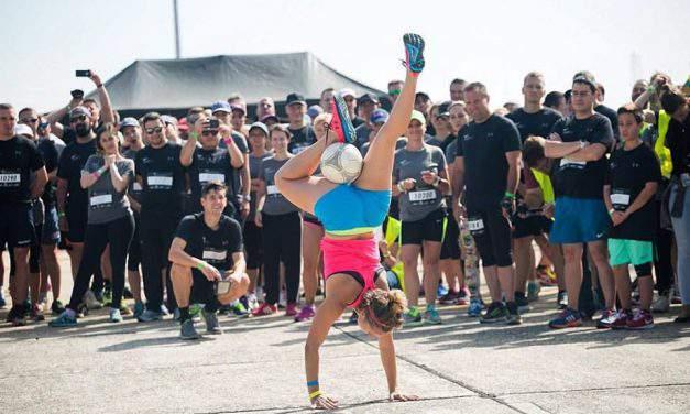 Hungarian football juggler girl sets new world record