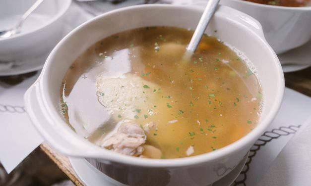 Recipe of the week: Újházi chicken soup