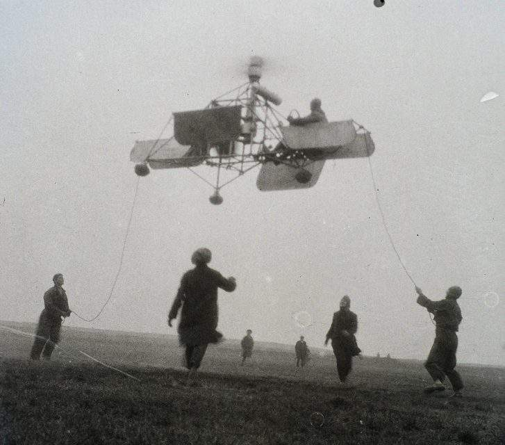 A cheater or a genius? Oszkár Asboth – the inventor of the helicopter