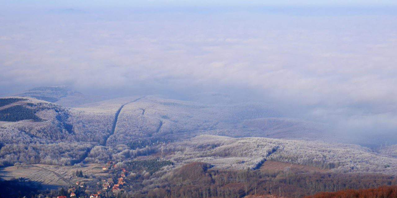 Get to know the second highest peak in Hungary: Pezsgő-kő