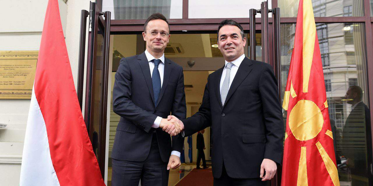 Hungary's FM highlights importance of Hungarian-Macedonian cooperation
