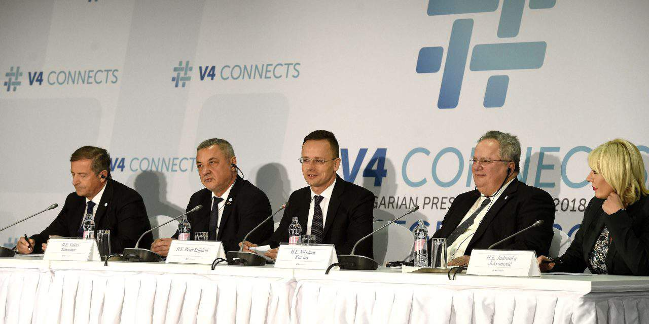 Democratic Coalition calls on V4 countries to decry 'scandalous' Budapest conference