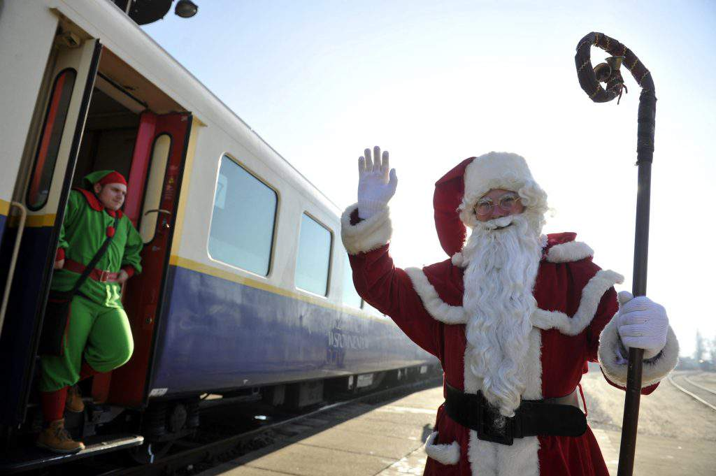 Hungary Santa Claus train