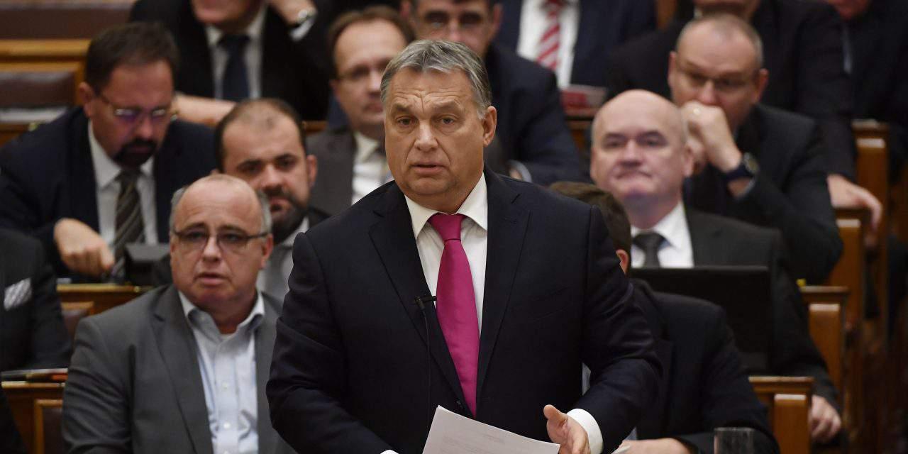 Hungary's ruling parties propose parliamentary decree to thwart 'Soros plan'
