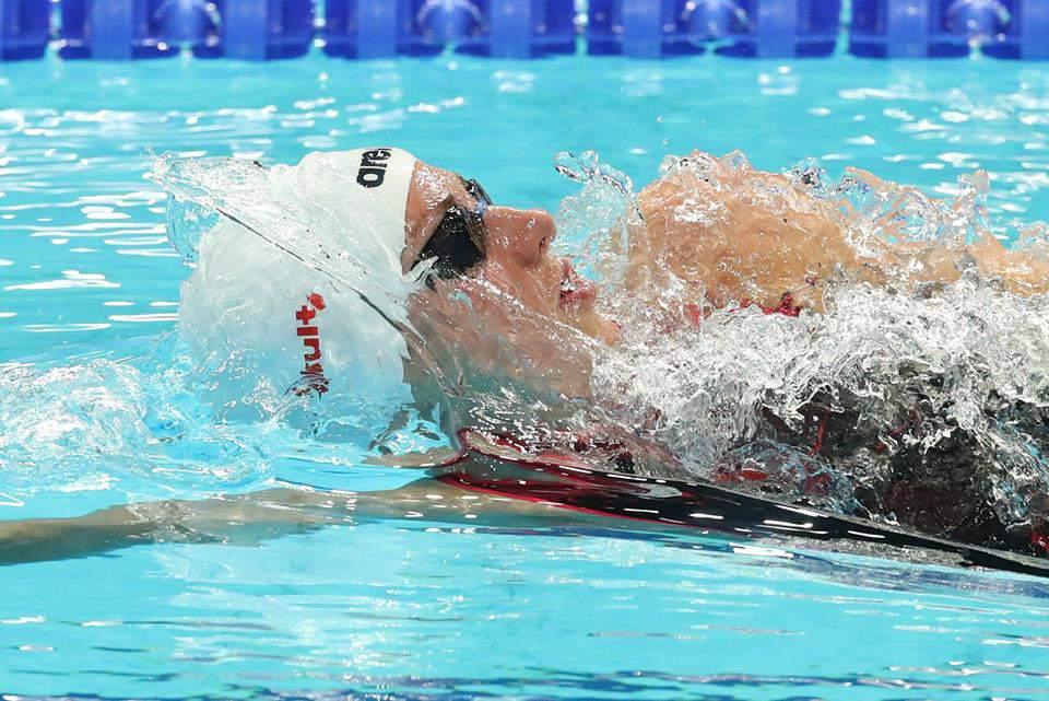 Katinka Hosszú swimming championship competition
