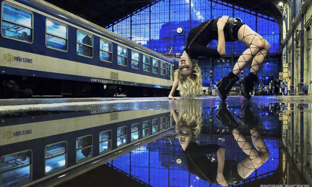 Urban Ballerina: Hungarian dancer on breath-taking photos