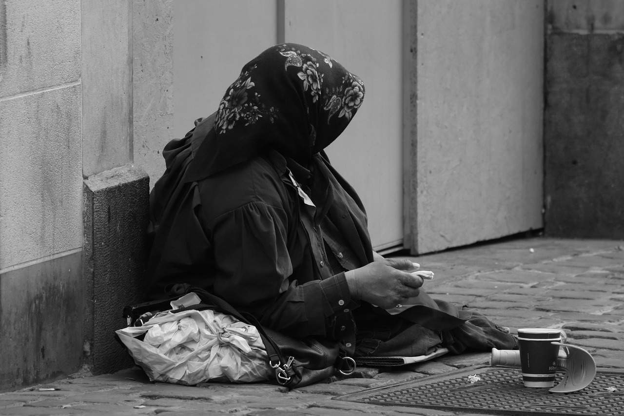 poverty begging
