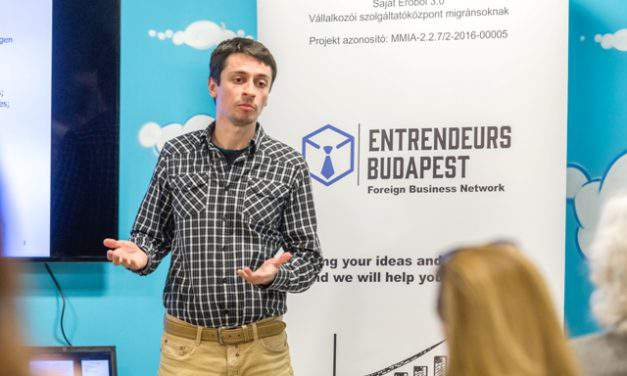 The Entrendeurs Budapest 3.0 helps foreigners living in Hungary to become entrepreneurs