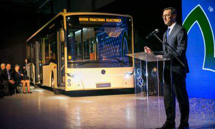 Production of world-class buses to start in East Hungary
