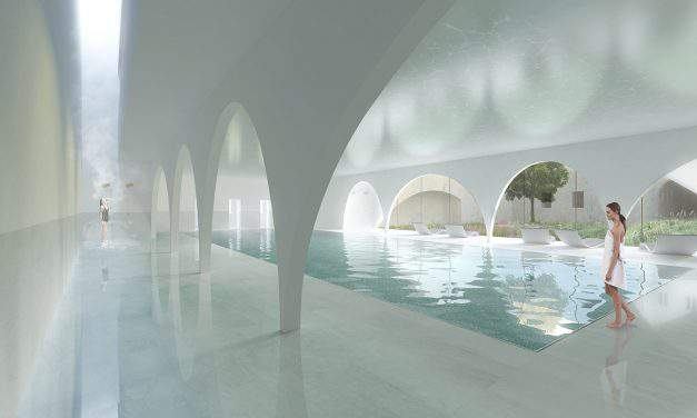 Plans for the renovation of the Király Thermal Bath – PHOTOS