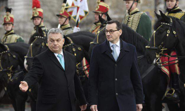 Polish PM highlights importance of V4 cooperation – Morawiecki in Budapest