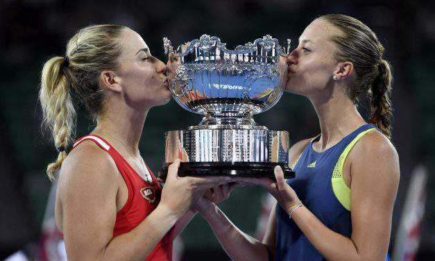 Amazing success: Tímea Babos and Kristina Mladenovic triumph at the Australian Open