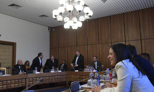 Ruling alliance lawmakers walk out of national security committee meeting