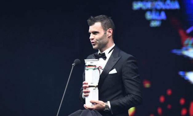 Nemanja Nikolic chosen as the football player of the year