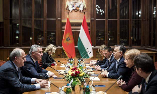 Viktor Orbán meets former Montenegrin president