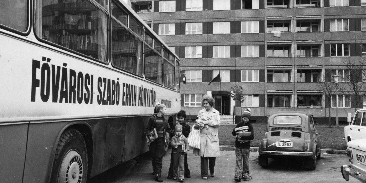 45 years of mobile libraries in Budapest